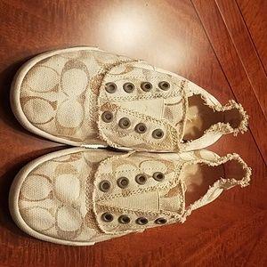Coach Slip on Sneakers